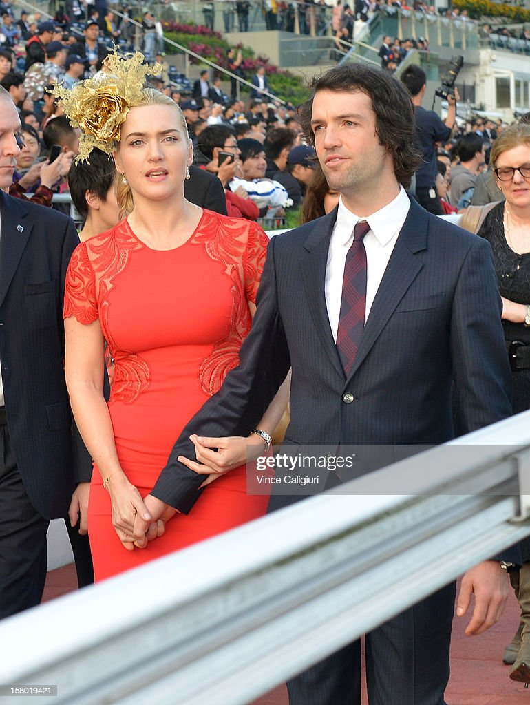 Actress <a gi-track='captionPersonalityLinkClicked' href=/galleries/search?phrase=Kate+Winslet&family=editorial&specificpeople=201923 ng-click='$event.stopPropagation()'>Kate Winslet</a> (guest of Longines) looks on before The presentation of The Longines Hong Kong Cup during the Hong Kong International Races at Sha Tin racecourse on December 9, 2012 in Hong Kong.