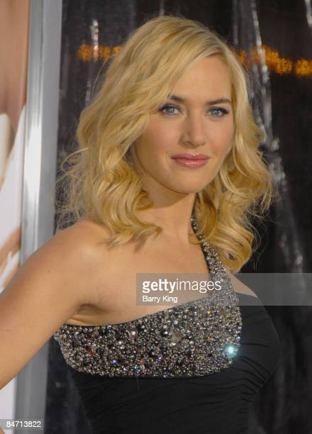 Actress Kate Winslett arrives at the Los Angeles Premiere of 'Revolutionary Road' held at the Mann's Village Theatre on December 15 2008 in Westwood...
