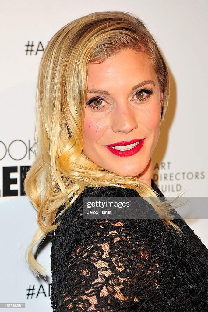 Actress Katee Sackhoff arrives at the 18th Annual Art Directors Guild Excellence in Production Design Awards at The Beverly Hilton Hotel on February 8, 2014 in Beverly Hills, California.