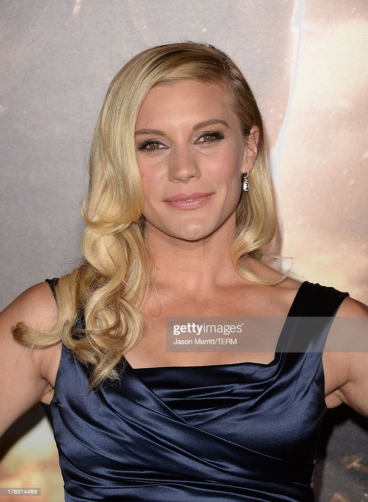 Actress Katee Sackhoff arrives at the premiere of Universal Pictures' 'Riddick' at Mann Village Theatre on August 28, 2013 in Westwood, California.