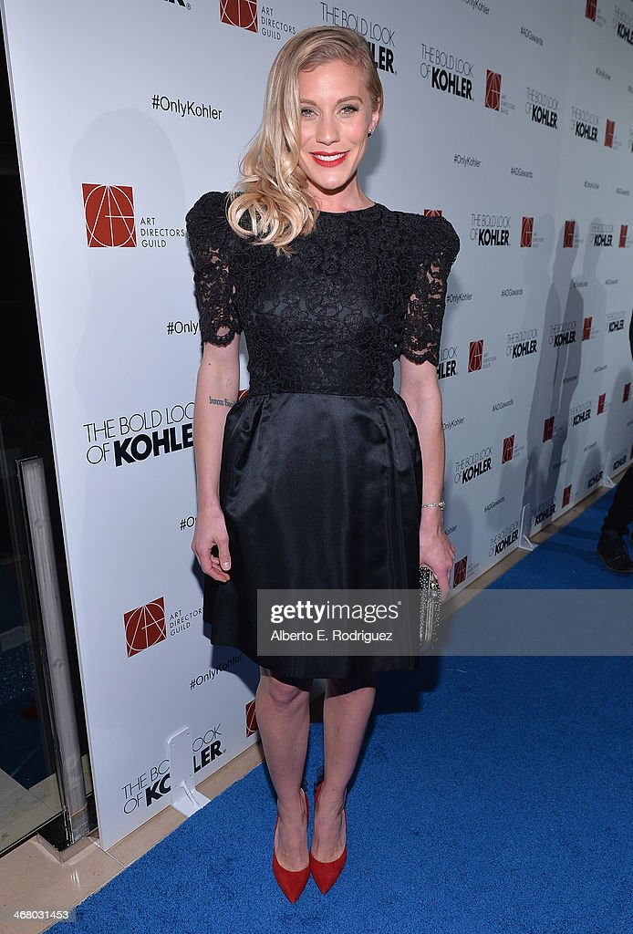 Actress Katee Sackhoff arrives to the 18th Annual Art Directors Guild Exellence In Production Design Awards at The Beverly Hilton Hotel on February 8, 2014 in Beverly Hills, California.