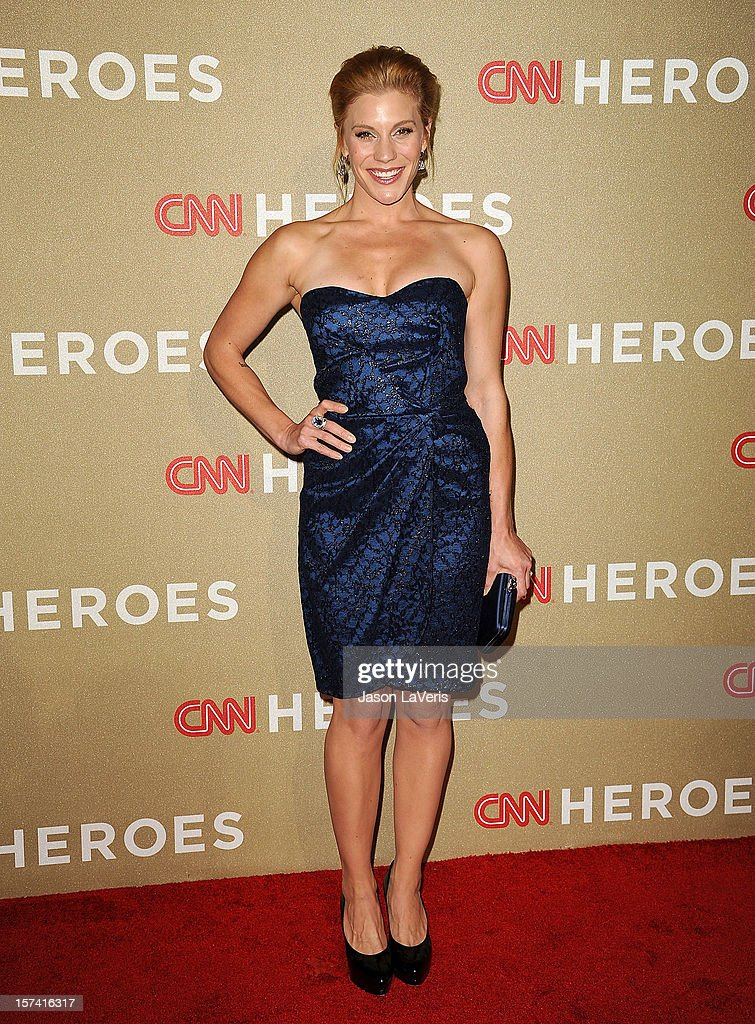 Actress Katee Sackhoff attends CNN Heroes: An All-Star Tribute at The Shrine Auditorium on December 2, 2012 in Los Angeles, California.