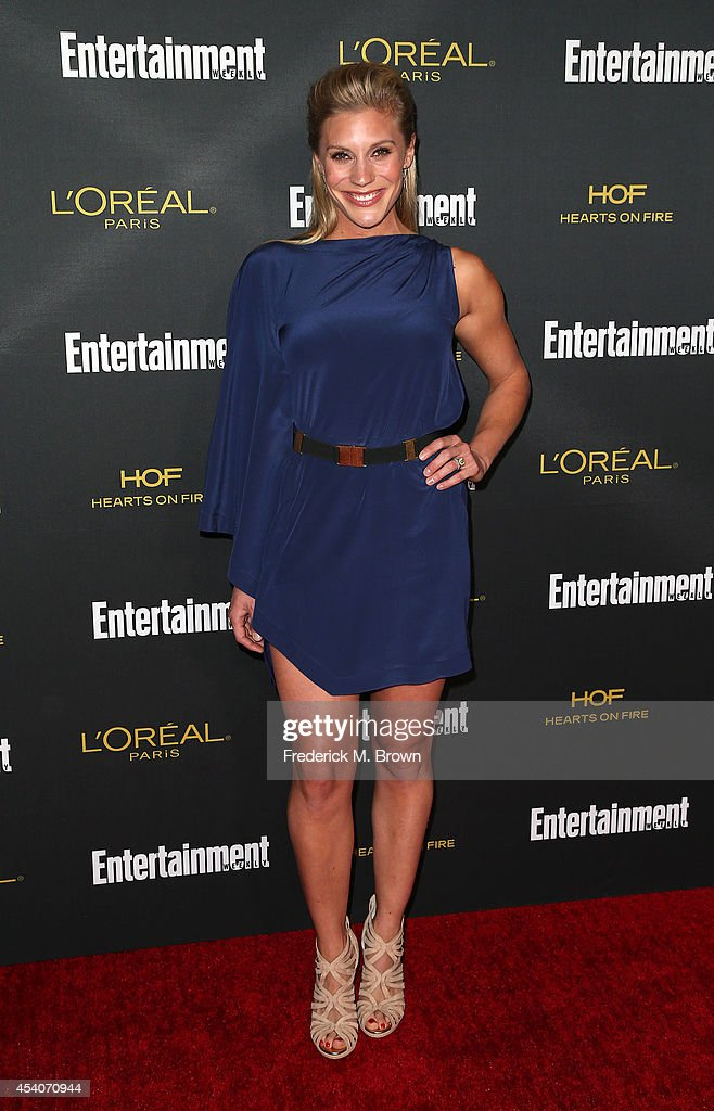 Actress Katee Sackhoff attends Entertainment Weekly's Pre Emmy Party at the Fig & Olive Melrose Place on August 23, 2014 in West Hollywood, California.