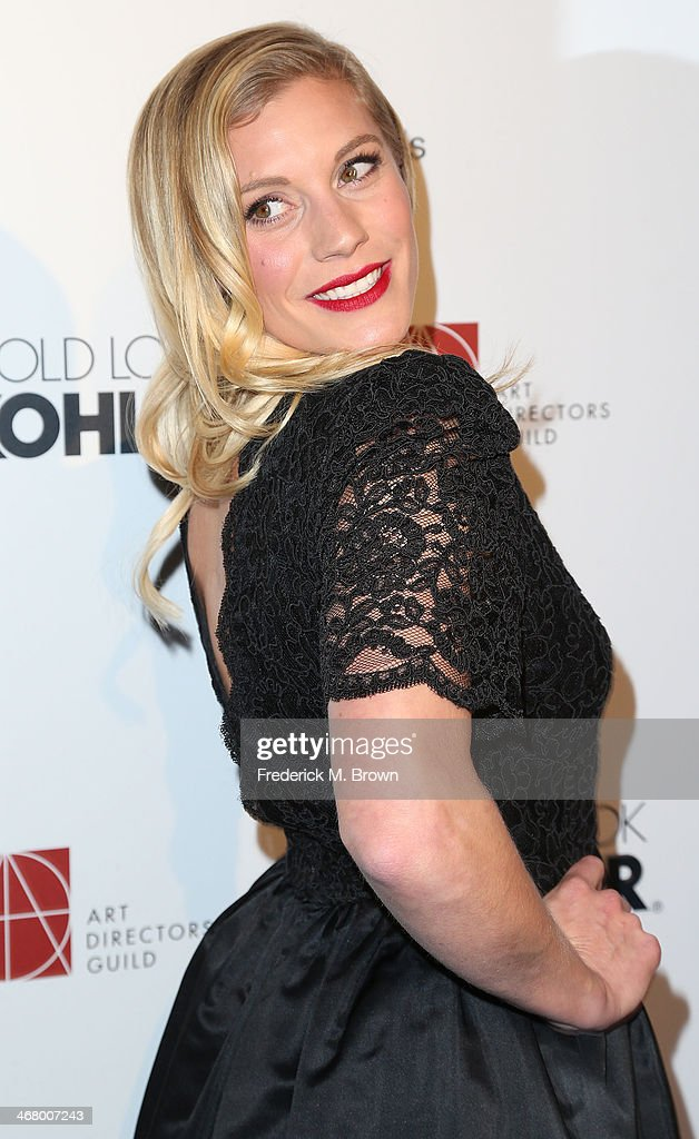 Actress Katee Sackhoff attends the 18th Annual Art Directors Guild Excellence in Production Design Awards at The Beverly Hilton Hotel on February 8, 2014 in Beverly Hills, California.