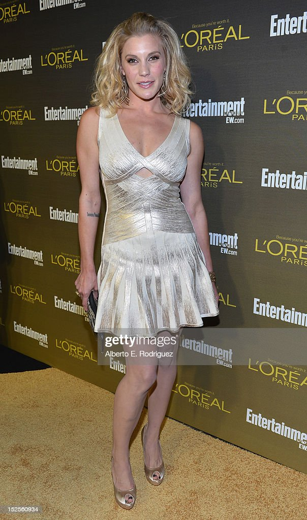 Actress Katee Sackhoff attends The 2012 Entertainment Weekly Pre-Emmy Party Presented By L'Oreal Paris at Fig & Olive Melrose Place on September 21, 2012 in West Hollywood, California.