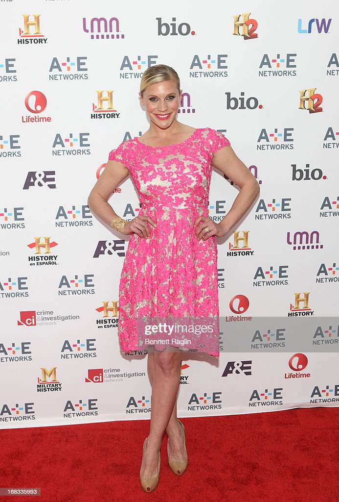 Actress Katee Sackhoff attends the 2013 A+E Networks Upfront at Lincoln Center on May 8, 2013 in New York City.