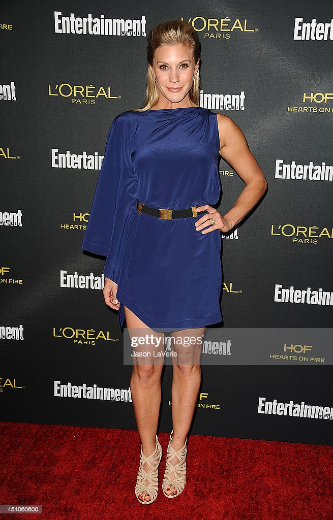 Actress Katee Sackhoff attends the 2014 Entertainment Weekly pre-Emmy party at Fig & Olive Melrose Place on August 23, 2014 in West Hollywood, California.