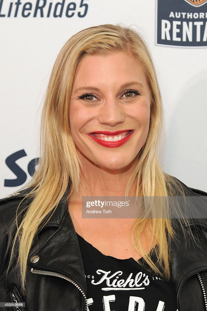 Actress <a gi-track='captionPersonalityLinkClicked' href=/galleries/search?phrase=Katee+Sackhoff&family=editorial&specificpeople=2310579 ng-click='$event.stopPropagation()'>Katee Sackhoff</a> attends the 5th Annual Kiehl's LifeRide for amfAR Finale Celebration on August 12, 2014 in New York City.