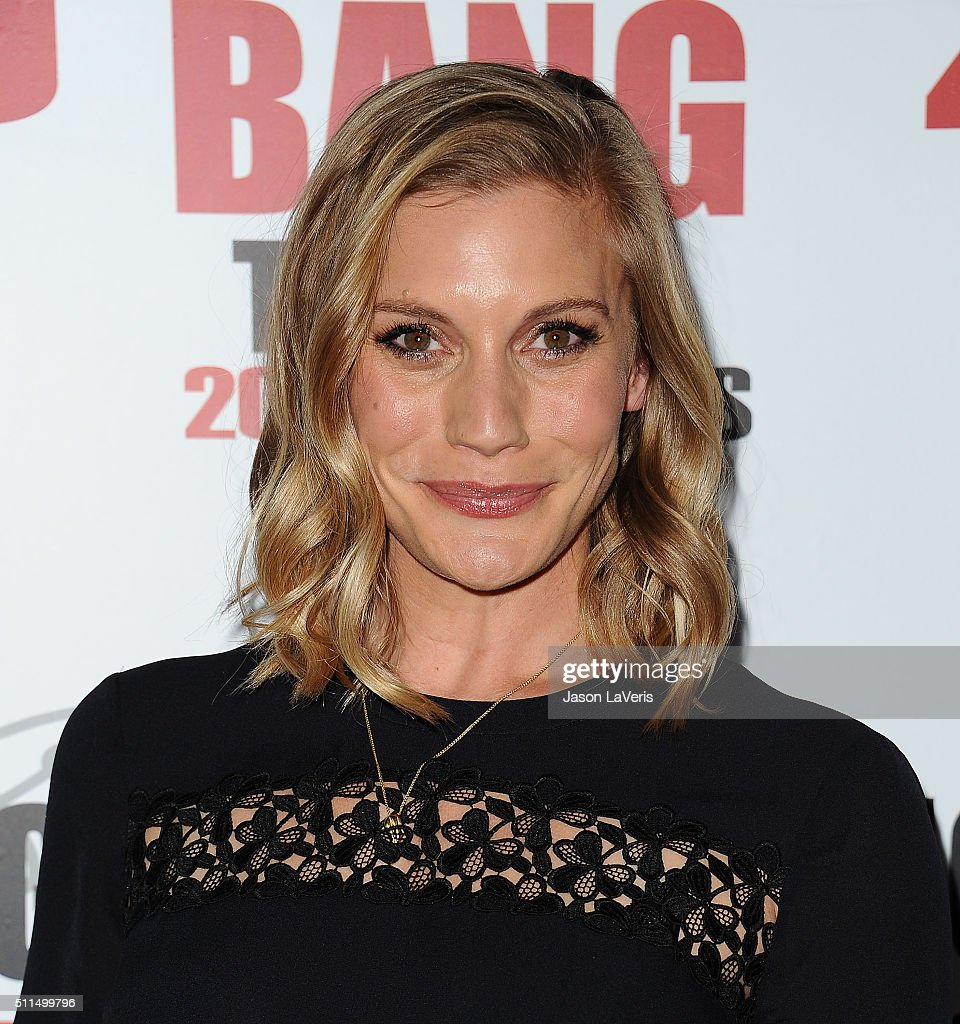 Actress Katee Sackhoff attends 'The Big Bang Theory' 200th episode celebration at Vibiana on February 20, 2016 in Los Angeles, California.