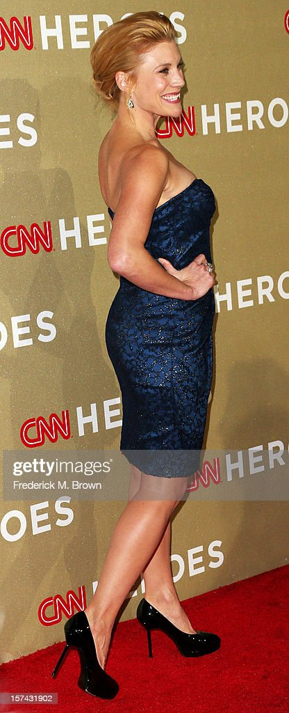 Actress Katee Sackhoff attends the CNN Heroes: An All Star Tribute at The Shrine Auditorium on December 2, 2012 in Los Angeles, California.