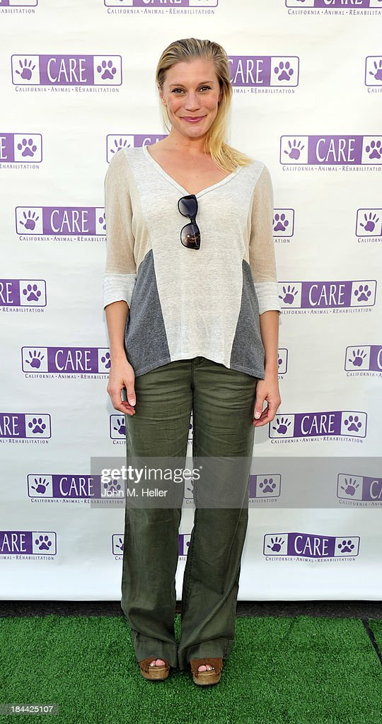 Actress Katee Sackhoff attends the grand opening of the California Animal Rehabilitation Center on October 13, 2013 in Los Angeles, California.