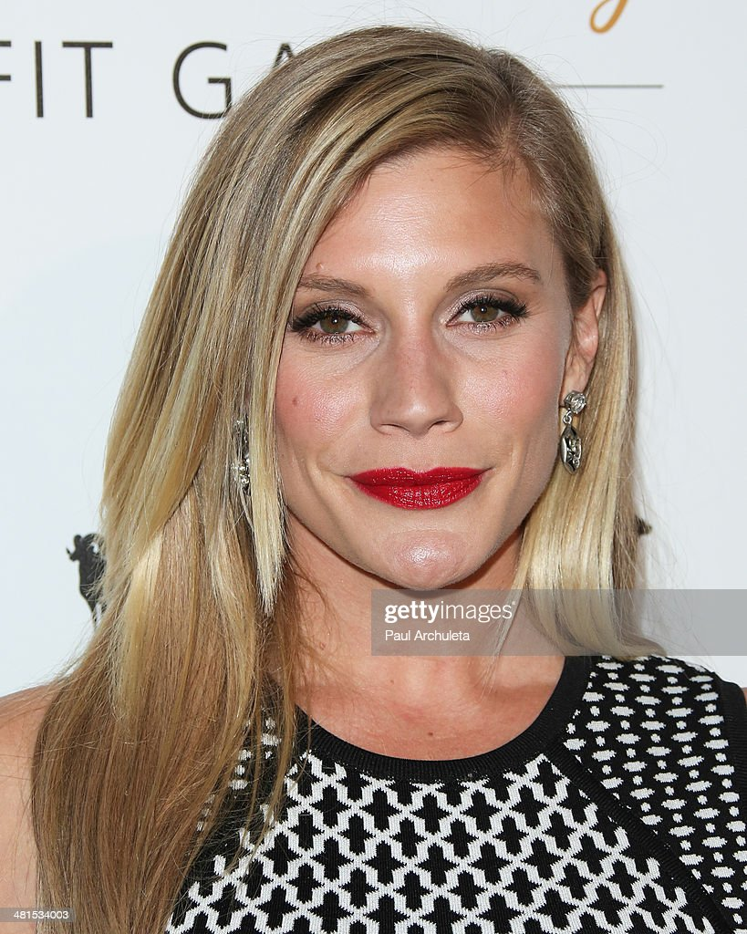 Actress Katee Sackhoff attends the Humane Society Of The United States 60th Anniversary Benefit Gala at The Beverly Hilton Hotel on March 29, 2014 in Beverly Hills, California.