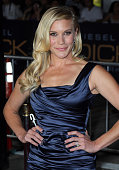Actress Katee Sackhoff attends the premiere of Universal Pictures' 'Riddick' at the Mann Village Theatre on August 28 2013 in Westwood California