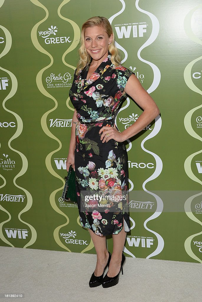 Actress Katee Sackhoff attends Variety & Women In Film Pre-Emmy Event presented by Yoplait Greek at Scarpetta on September 20, 2013 in Beverly Hills, California.