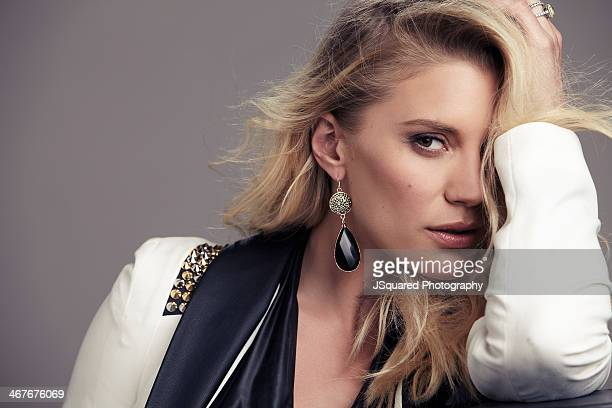 Actress Katee Sackhoff is photographed for Glamoholic on August 9 2013 in Los Angeles California PUBLISHED IMAGE ON DOMESTIC EMBARGO UNTIL JUNE 1...