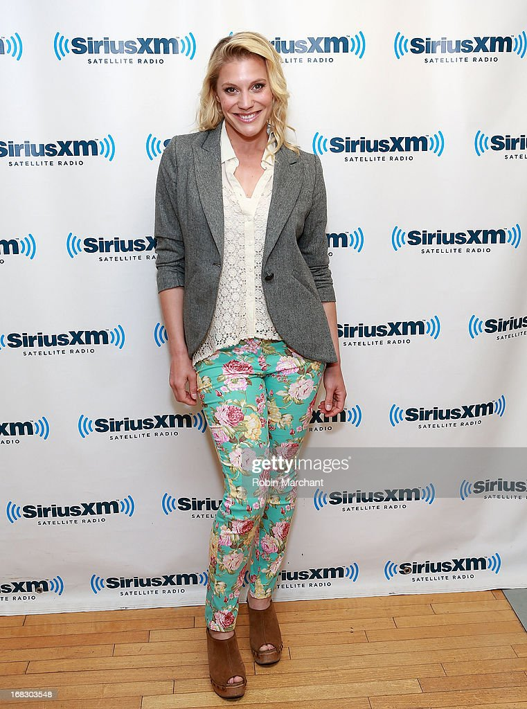 Actress Katee Sackhoff visits at SiriusXM Studios on May 8, 2013 in New York City.
