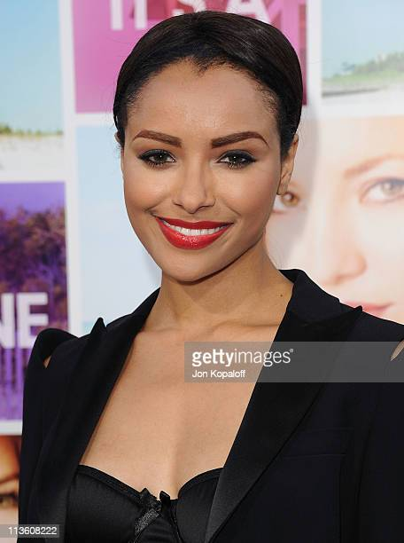 Actress Katerina Graham arrives at the Los Angeles Premiere 'Something Borrowed' at Grauman's Chinese Theatre on May 3 2011 in Hollywood California
