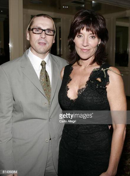 Actress Katey Sagal and husband...
