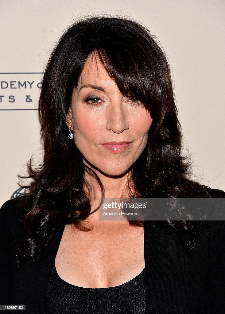 Actress <a gi-track='captionPersonalityLinkClicked' href=/galleries/search?phrase=Katey+Sagal&family=editorial&specificpeople=221480 ng-click='$event.stopPropagation()'>Katey Sagal</a> arrives at an evening with 'Sons Of Anarchy' presented by The Television Academy at the Leonard H. Goldenson Theatre on October 25, 2013 in North Hollywood, California.