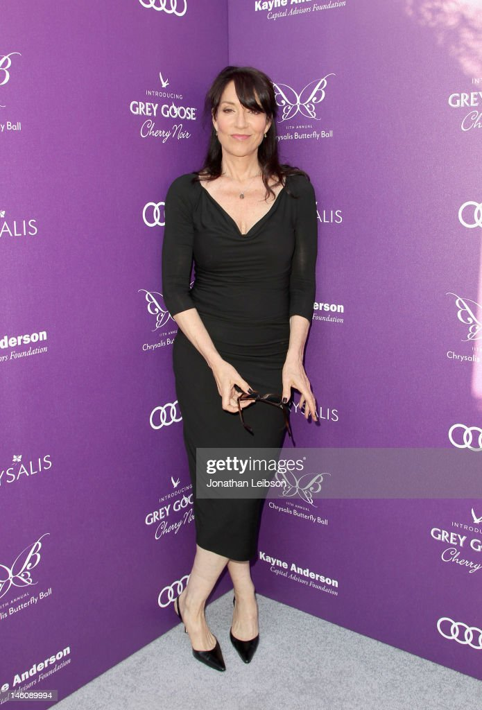 Actress <a gi-track='captionPersonalityLinkClicked' href=/galleries/search?phrase=Katey+Sagal&family=editorial&specificpeople=221480 ng-click='$event.stopPropagation()'>Katey Sagal</a> arrives at the 11th Annual Chrysalis Butterfly Ball held at a private residence on June 9, 2012 in Los Angeles, California.