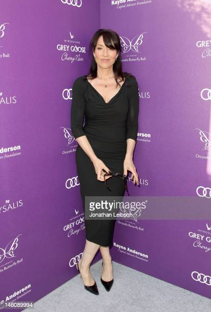 Actress Katey Sagal arrives at the 11th Annual Chrysalis Butterfly Ball held at a private residence on June 9 2012 in Los Angeles California