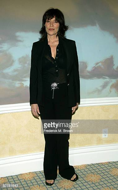 Actress Katey Sagal arrives at the 9th Annual PRISM Awards at the Beverly Hills Hotel on April 28 2005 in Beverly Hills California