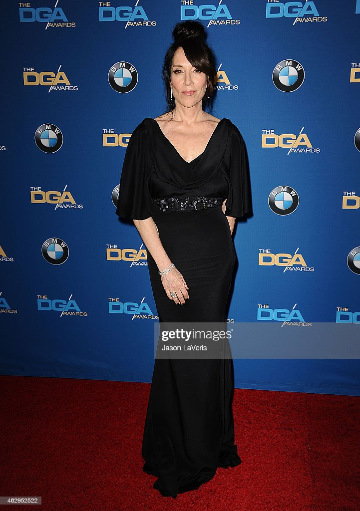 Actress <a gi-track='captionPersonalityLinkClicked' href=/galleries/search?phrase=Katey+Sagal&family=editorial&specificpeople=221480 ng-click='$event.stopPropagation()'>Katey Sagal</a> attends the 67th annual Directors Guild of America Awards at the Hyatt Regency Century Plaza on February 7, 2015 in Los Angeles, California.