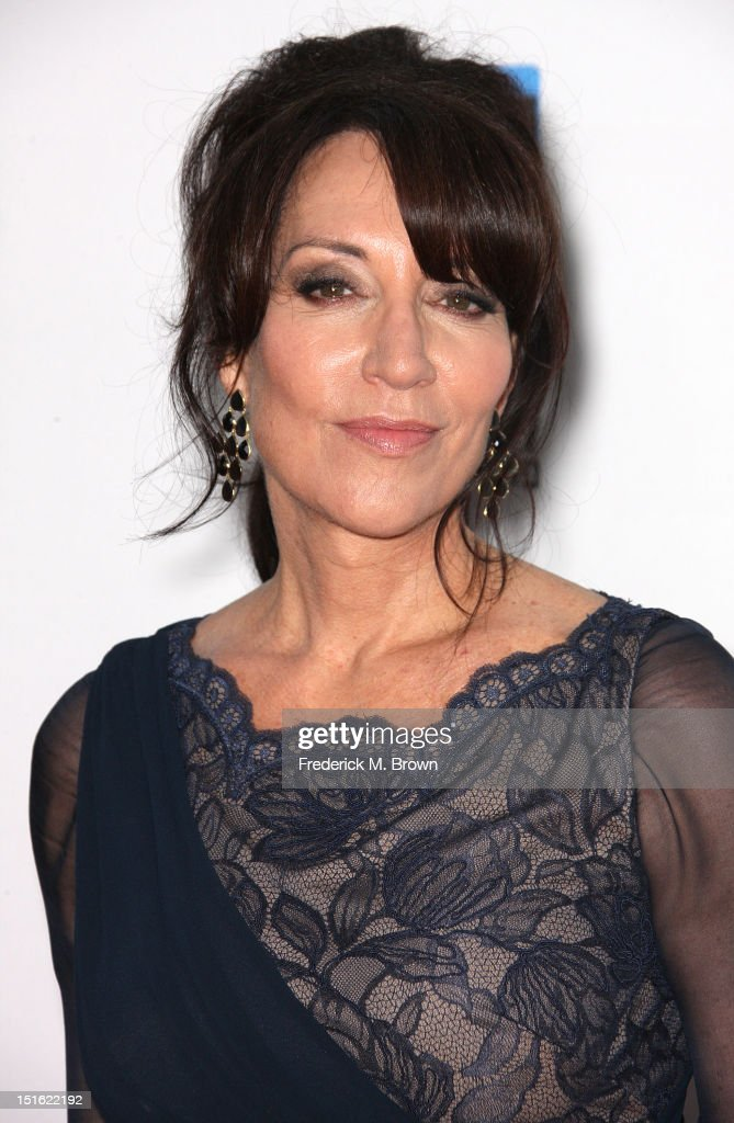 Actress <a gi-track='captionPersonalityLinkClicked' href=/galleries/search?phrase=Katey+Sagal&family=editorial&specificpeople=221480 ng-click='$event.stopPropagation()'>Katey Sagal</a> attends the Screening For FX's 'Sons Of Anarchy' Season 5 at Westwood Village Theater on September 8, 2012 in Los Angeles, California.