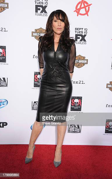 Actress Katey Sagal attends the Season 6 premiere screening of FX's 'Sons Of Anarchy' at Dolby Theatre on September 7 2013 in Hollywood California