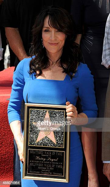 Actress Katey Sagal is honored with a star on The Hollywood Walk Of Fame on September 9 2014 in Hollywood California