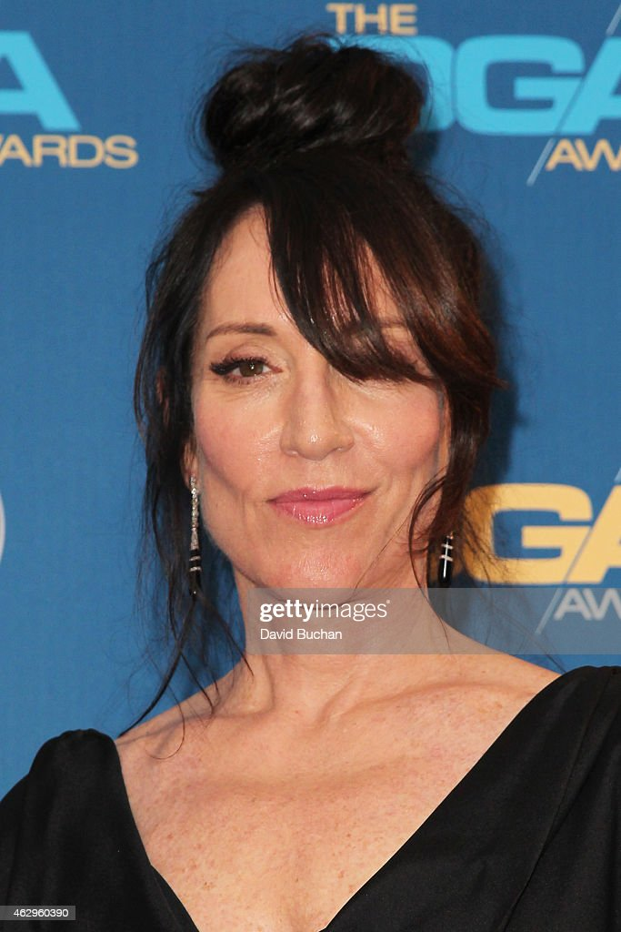 Actress <a gi-track='captionPersonalityLinkClicked' href=/galleries/search?phrase=Katey+Sagal&family=editorial&specificpeople=221480 ng-click='$event.stopPropagation()'>Katey Sagal</a> poses in the press room at the 67th Annual Directors Guild Of America Awards at the Hyatt Regency Century Plaza on February 7, 2015 in Century City, California.