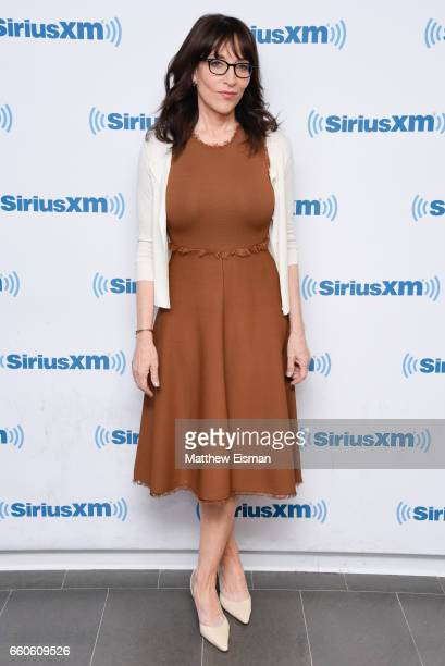 Actress Katey Sagal visits SiriusXM Studios on March 30 2017 in New York City