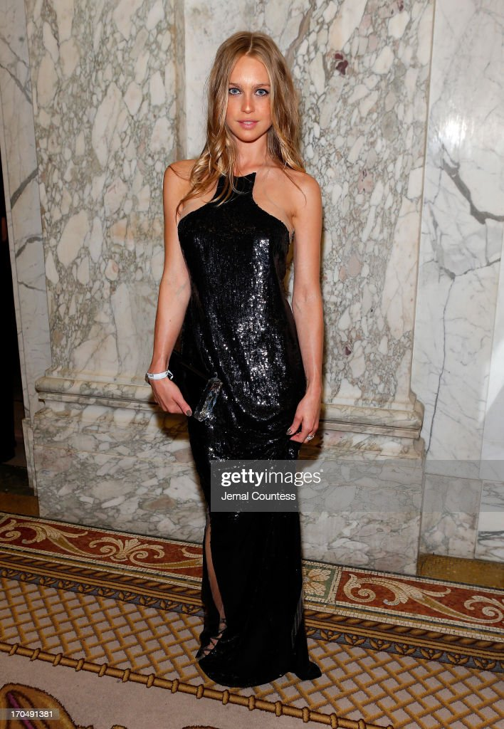 Actress Katharina Damm attends the 4th Annual amfAR Inspiration Gala New York at The Plaza Hotel on June 13, 2013 in New York City.
