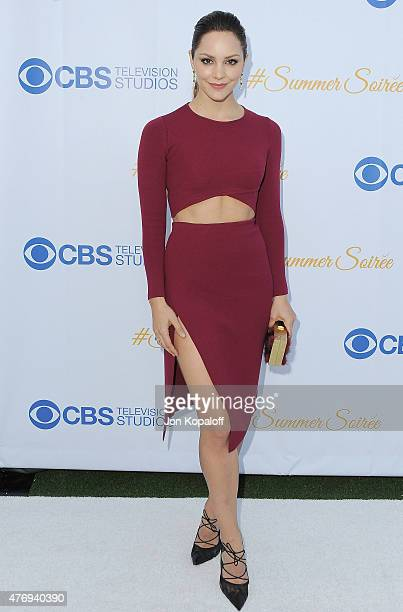 Actress Katharine McPhee arrives at CBS Television Studios 3rd Annual Summer Soiree Party at The London Hotel on May 18 2015 in West Hollywood...