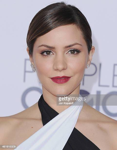 Actress Katharine McPhee arrives at The 41st Annual People's Choice Awards at Nokia Theatre LA Live on January 7 2015 in Los Angeles California