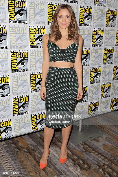 Actress Katharine McPhee attends ComicCon International on July 9 2015 in San Diego California