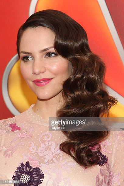 Actress Katharine McPhee attends NBC's Upfront Presentation at 51st Street on May 14 2012 in New York City
