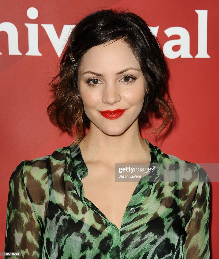 Actress Katharine McPhee attends the 2013 NBC TCA Winter Press Tour at The Langham Huntington Hotel and Spa on January 6, 2013 in Pasadena, California.