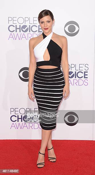 Actress Katharine McPhee attends the 2015 People's Choice Awards at Nokia Theatre LA Live on January 7 2015 in Los Angeles California