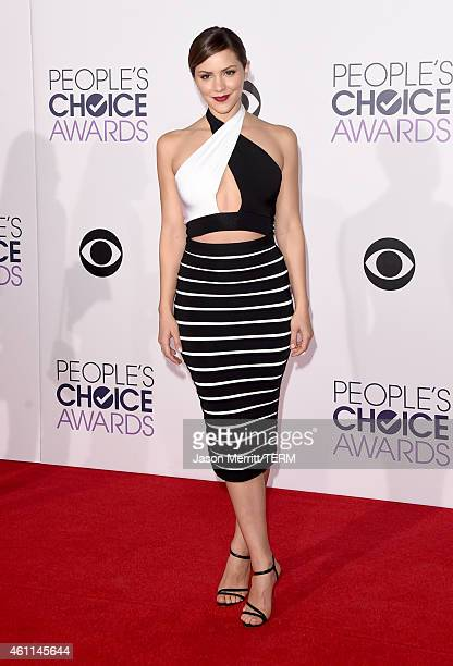 Actress Katharine McPhee attends The 41st Annual People's Choice Awards at Nokia Theatre LA Live on January 7 2015 in Los Angeles California