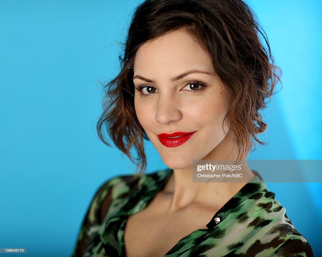 Actress Katharine McPhee attends the NBCUniversal 2013 TCA Winter Press Tour at The Langham Huntington Hotel and Spa on January 6, 2013 in Pasadena, California.