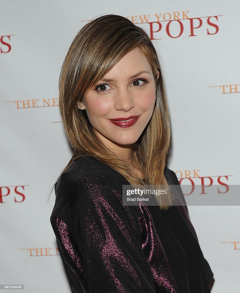 Actress Katharine McPhee attends The New York Pops 31st Birthday Gala at the Mandarin Oriental Hotel on April 28, 2014 in New York City.