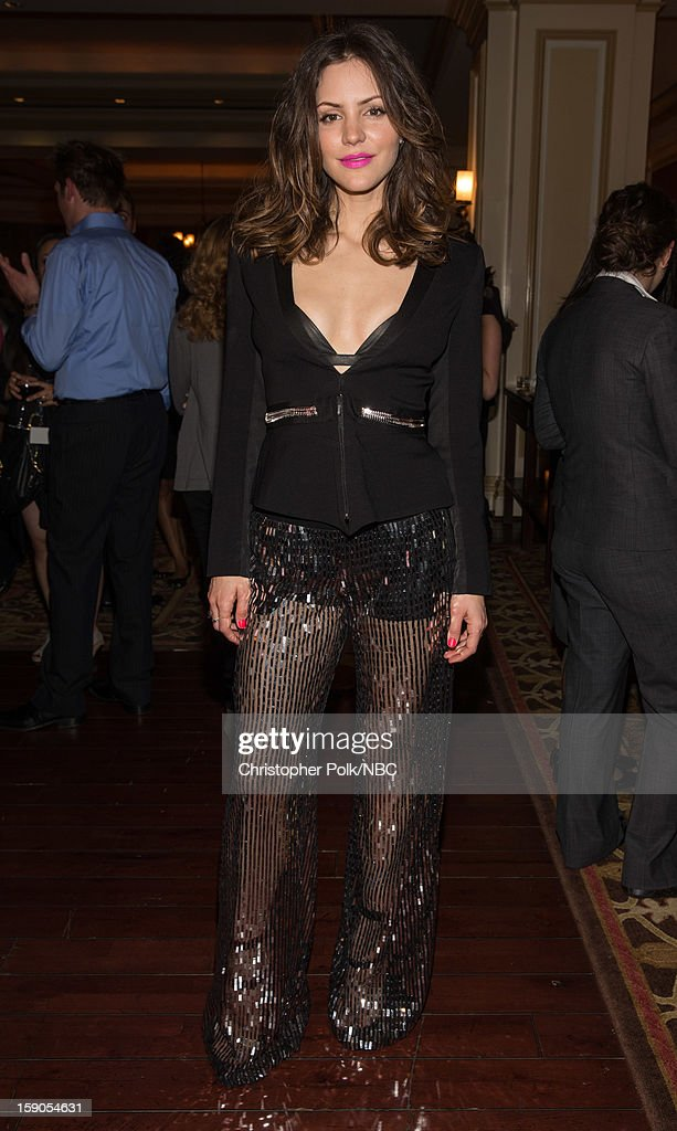 Actress Katharine McPhee during the NBCUniversal 2013 TCA Winter Press Tour Party held at The Langham Huntington Hotel and Spa on January 6, 2013 in Pasadena, California.