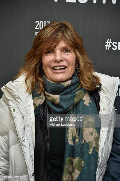 Actress Katharine Ross attends the 'The Hero' premiere on day 3 of the 2017 Sundance Film Festival at Library Center Theater on January 21 2017 in...