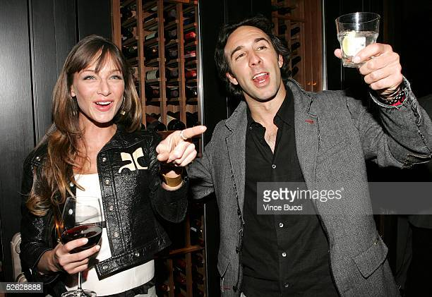 Actress Katharine Towne and writer/producer John Stalberg attend the afterparty for the 5th Annual International Beverly Hills Film Festival opening...