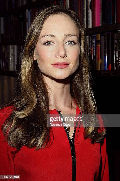 Actress Katharine Towne at ghd Presents Erin Fetherston Fashion Week KickOff Party at Villa on March 7 2008 in West Hollywood California