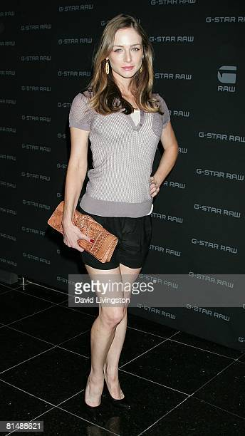 Actress Katharine Towne attends GStar's launch of LA Raw Nights at GStar on June 4 2008 in Beverly Hills California