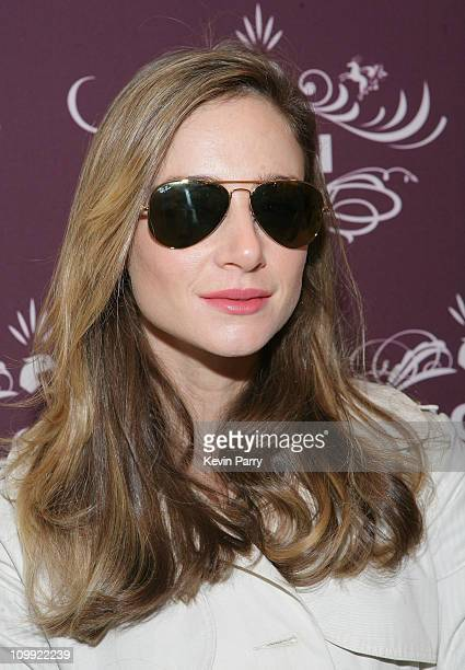 Actress Katharine Towne attends The Belvedere Luxury Lounge in honor of the 80th Academy Awards featuring the Ilori Luxury Sunglass Suite held at the...