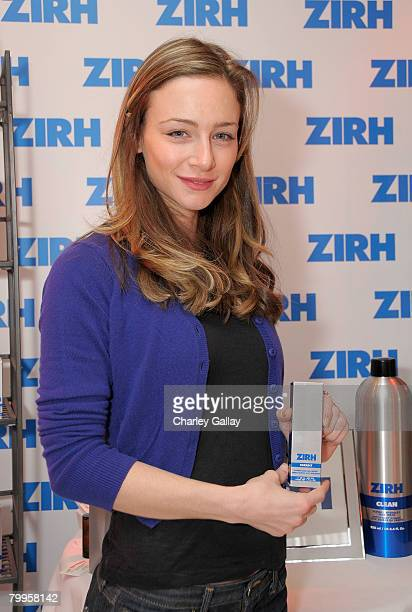 Actress Katharine Towne attends The Belvedere Luxury Lounge in honor of the 80th Academy Awards featuring Zirh Men's Skincare held at the Four...