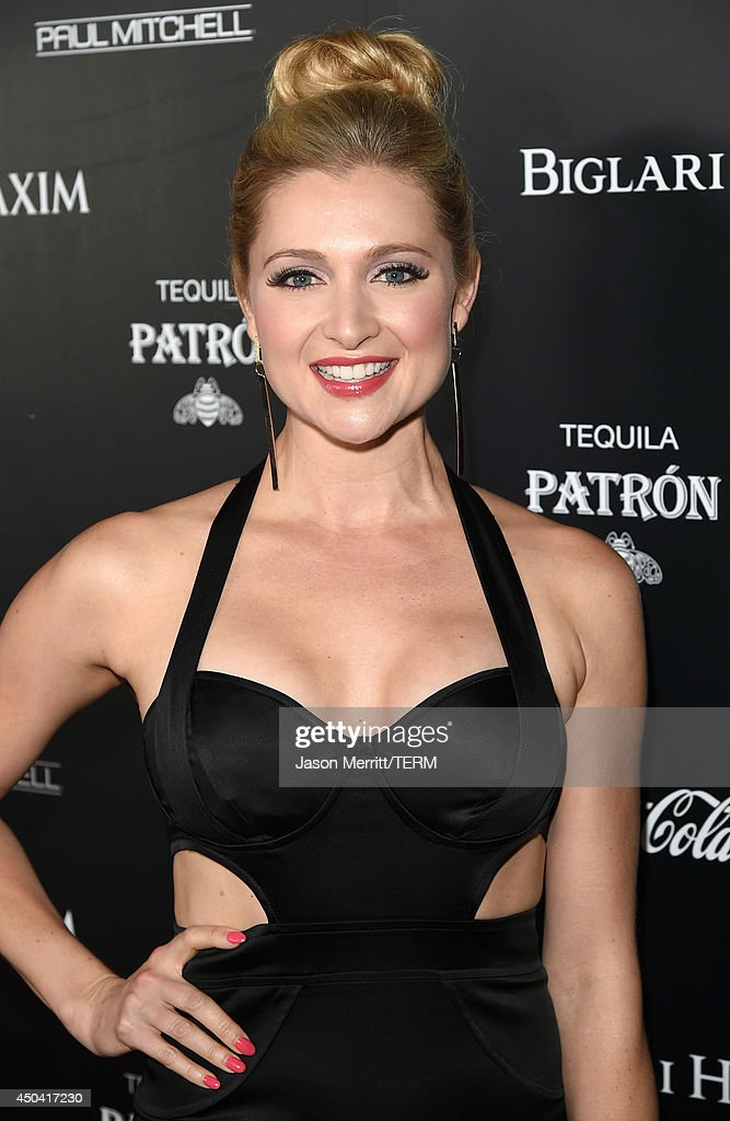 Actress Katherine Bailess attends Maxim's Hot 100 Women of 2014 celebration and sneak peek of the future of Maxim at Pacific Design Center on June 10, 2014 in West Hollywood, California.